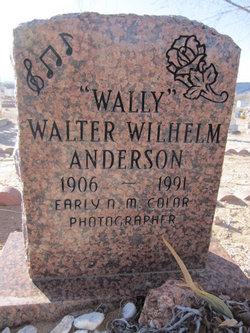 "Walter Wilhelm ""Wally"" Anderson"