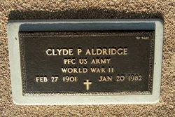 Clyde P Aldridge