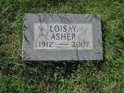 Lois Elizabeth <I>Yarbrough</I> Asher