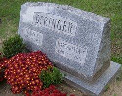 "Margaretta ""Gretchen"" <I>Totten</I> Deringer"
