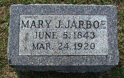 Mary Jane <I>Pate</I> Jarboe
