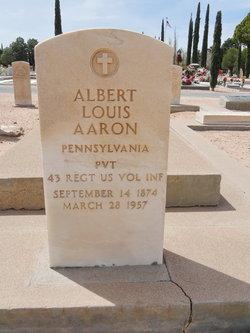 """Albert Louis """"Al"""" Aaron"""