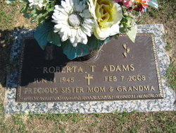 "Roberta Louise ""Bobbie"" <I>Batson</I> Adams"