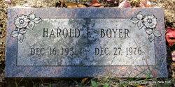 Harold E Boyer