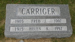 Helen K. <I>Sennett</I> Carriger