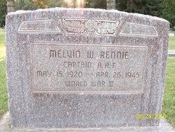 Capt Melvin W Rennie