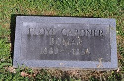 Floy Mullins <I>Gardner</I> Bomar