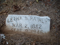 Letha C <I>Barbee</I> Rainey