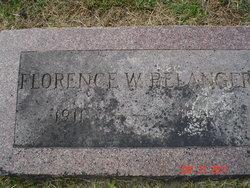 Florence <I>Weaver</I> Belanger