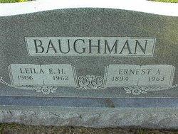 Leila Ellis <I>Harris</I> Baughman