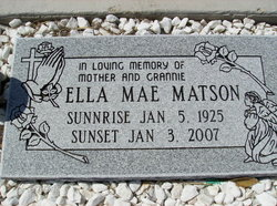 Ella Mae Matson