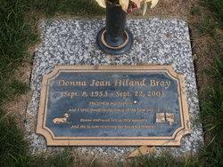 Donna Jean <I>Hiland</I> Bray