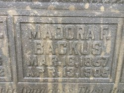 Madorra F. <I>Burdette</I> Backus