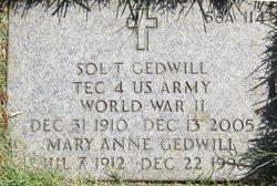 Mary Anne Gedwill