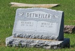 Myrtle P. <I>Schild</I> Detweiler