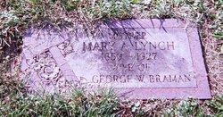 Mary Anne <I>Lynch</I> Braman