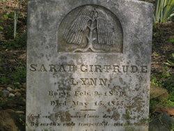 Sarah Gertrude Lynn