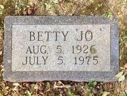 Betty Jo <I>Richards</I> English