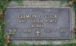 Clemon D Cook