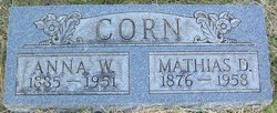 Anna <I>Wileman</I> Corn