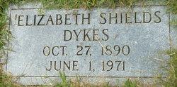 Elizabeth Angaline <I>Shields</I> Dykes