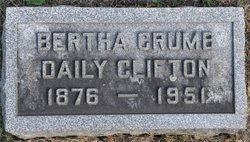 Bertha <I>Crumb</I> Clifton