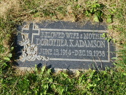 Dorothea Katherine <I>Thornton</I> Adamson