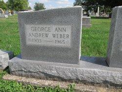George Ann <I>Andrew</I> Weber