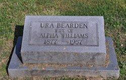 Ura <I>Bearden</I> Williams