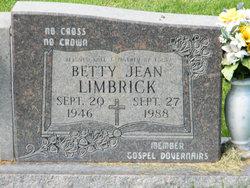 Betty Jean <I>Roquemore</I> Limbrick