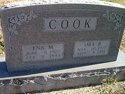 Ora Ray Cook
