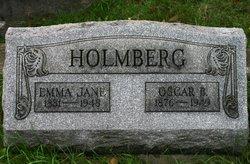 Emma Jane <I>Bowers</I> Holmberg