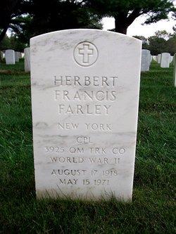 """Herbert Francis """"Herbie"""" Farley"""