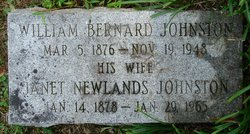 Dr William Bernard Johnston