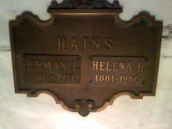 """Herman Elmer """"Perry"""" Hains"""