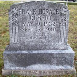Frank Horace Tolbert