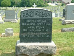 Anna M <I>Scott</I> Stump