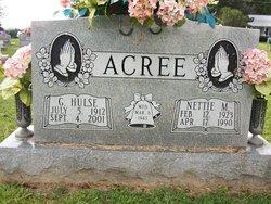 Nettie M. <I>Shirley</I> Acree