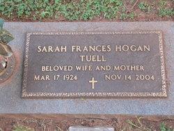 Sarah Frances <I>Hogan</I> Tuell