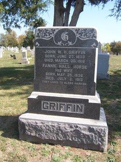 Fannie Hall <I>Morse</I> Griffin