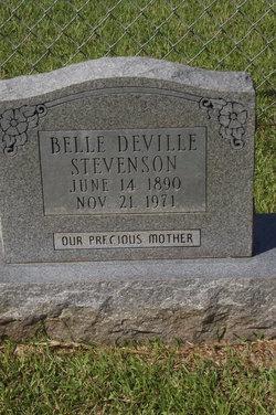 """Isabelle """"Belle"""" <I>Deville</I> Stevenson"""