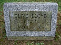 Olive <I>Lloyd</I> Lewis