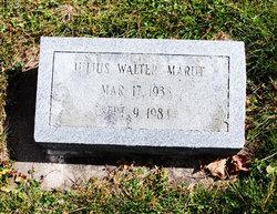 Julius Walter Marut