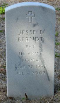 "Jesse E ""Jess"" Berndt"