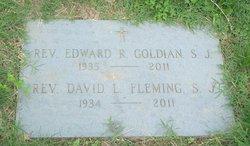 Rev Edward R. Goldian, S.J.
