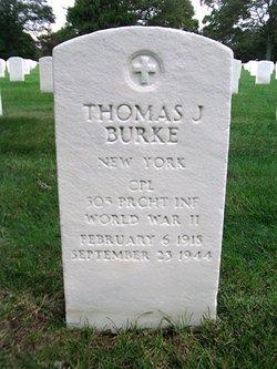 CPL Thomas J Burke