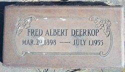Fred Albert Deerkop