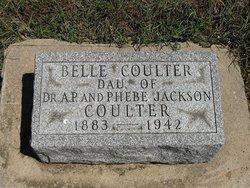 """Isabel """"Belle"""" <I>Coulter</I> Adkison"""