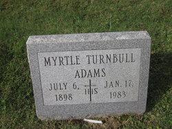Myrtle <I>Hurline</I> Adams