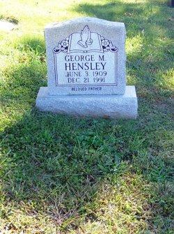 George Madison Hensley